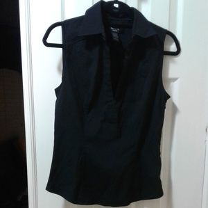 """Express"" black sleeveless Shirt! Size 8."